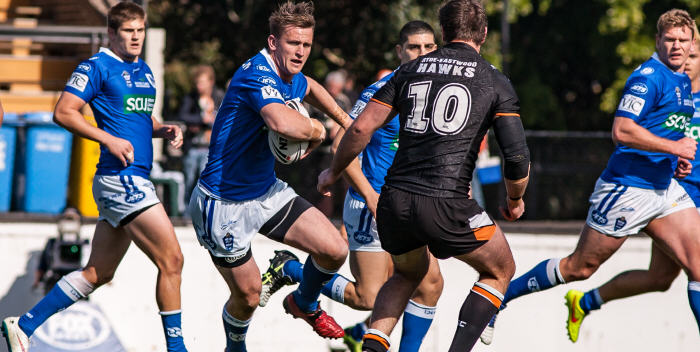 Andrew Pearn celebrated his 200th NSW Cup game with a draw last Saturday. He & everyone at the Jets will be hoping to go one better this weekend. Photo: Mario Facchini Photography