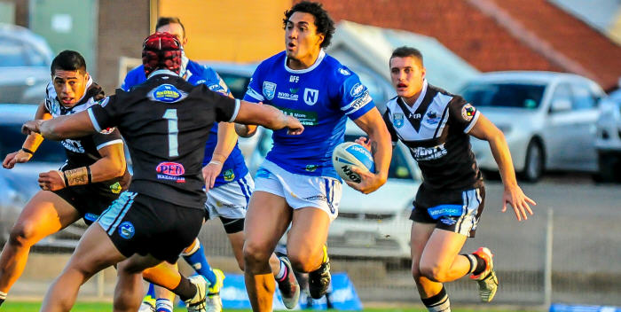 Young Newtown Jets backrower Kenny Niko made an impressive debut with the club against Wentworthville at Henson Park last Saturday. Photo: Gary Sutherland Photography
