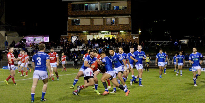 Friday night ISP NSW Rugby League is a bit of a rarity at Henson Park, the home of the Newtown Jets. (Newtown v Illawarra Cutters, 1st July 2016). Photo: Michael Magee Photography