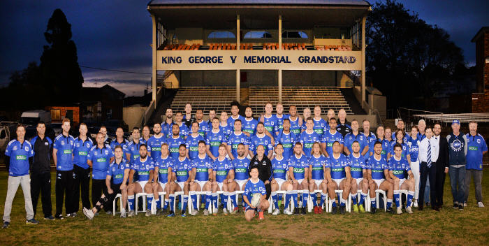 Newtown RLFC Official Club Photo 2018: Image: Mike Magee