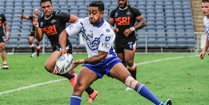 Tongan Rugby League international representative Nesiasi Mataitonga (pictured) looks like being a more than useful signing for the Newtown Jets in 2015. (Photo: Gary Sutherland Photography)