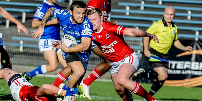 Nathan Gardner caused plenty of problems for Illawarra last Saturday.  The Jets will be hoping for a repeat performance against the Bulldogs this weekend.