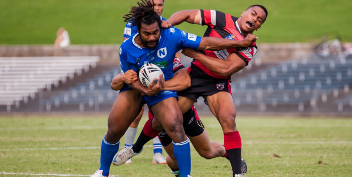 Peni Botiki has made a big impression in his short time at the Jets. Peni and his family need our support so let's show our true blue colours and lend them a hand! Photo: Mario Facchini Photography