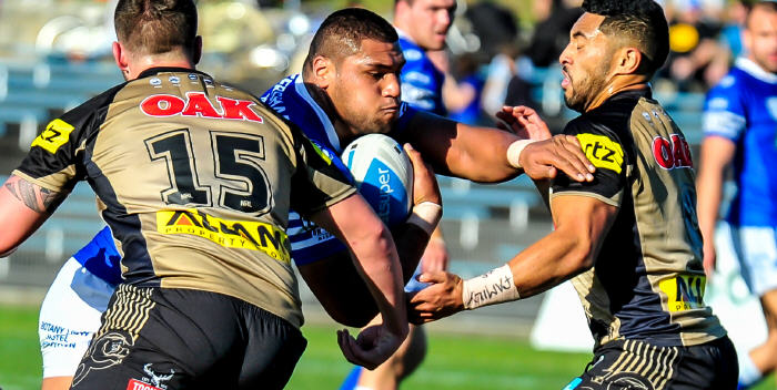Big prop Saulala Houma has been a valuable addition to the Newtown Jets ISP NSW ranks in the latter part of the 2016 season. Photo: Gary Sutherland Photography