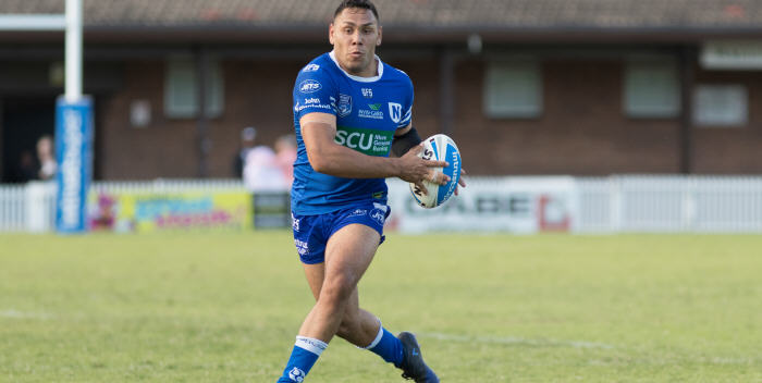 Newtown Jets centre Jesse Ramien (pictured)  has won selection in the Junior Kangaroos to play the Junior Kiwis on Friday, 5th May at GIO Stadium, Canberra. Jesse is a product of the Coonamble RLFC in north-western NSW. Photo: MAF Photography
