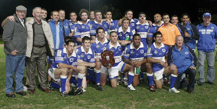 Here's a blast from the past with particular relevance to this Saturday. The Jets defeated North Sydney at North Sydney Oval on the night of Friday, 18th May 2007. Jamie Soward was Newtown's team captain and is pictured here holding the Frank Hyde Shield. Eleven years later Jamie will be part of the Channel Nine broadcast team at Henson Park on Saturday covering another Newtown-Norths match. Photo: Mike Biboudis Photography.