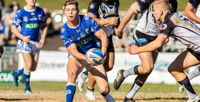 Newtown Jets hooker Blayke Brailey has been in outstanding form throughout 2018, but he will be on representative team duty this weekend. Photo: Mario Facchini, mafphotography