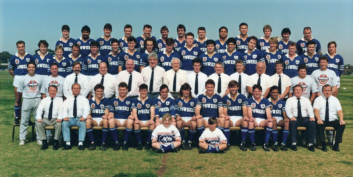 1992 Metropolitan Cup First Grade Premiers & Club Champions
