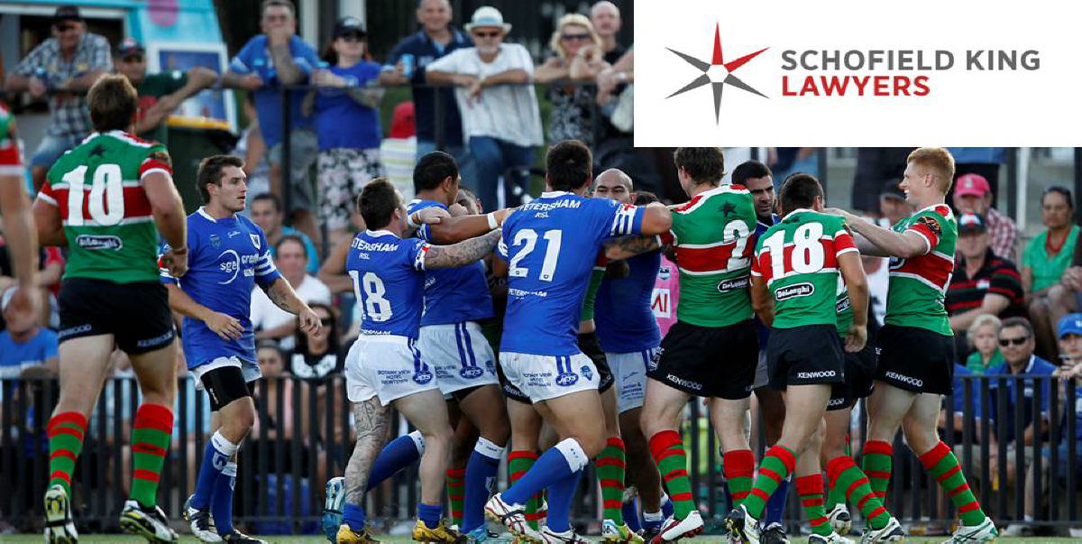 The Newtown Jets and South Sydney Rabbitohs get serious at Redfern Oval on Saturday 5th February 2011. Photo: Mike Biboudis