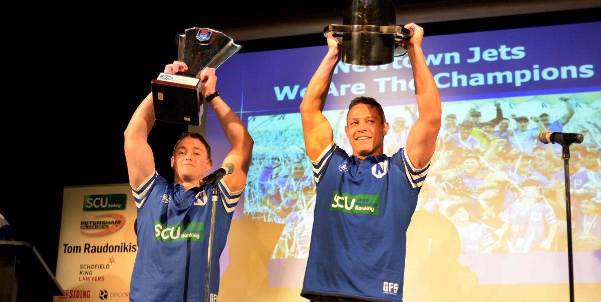 We Are The Champions - Newtown Jets * The Rugby League Story of 2019. Photo: Mike Magee