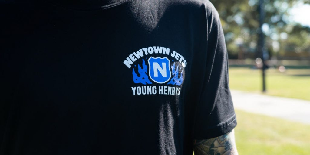 """NEWTOWNER!"" Photo: Young Henrys"