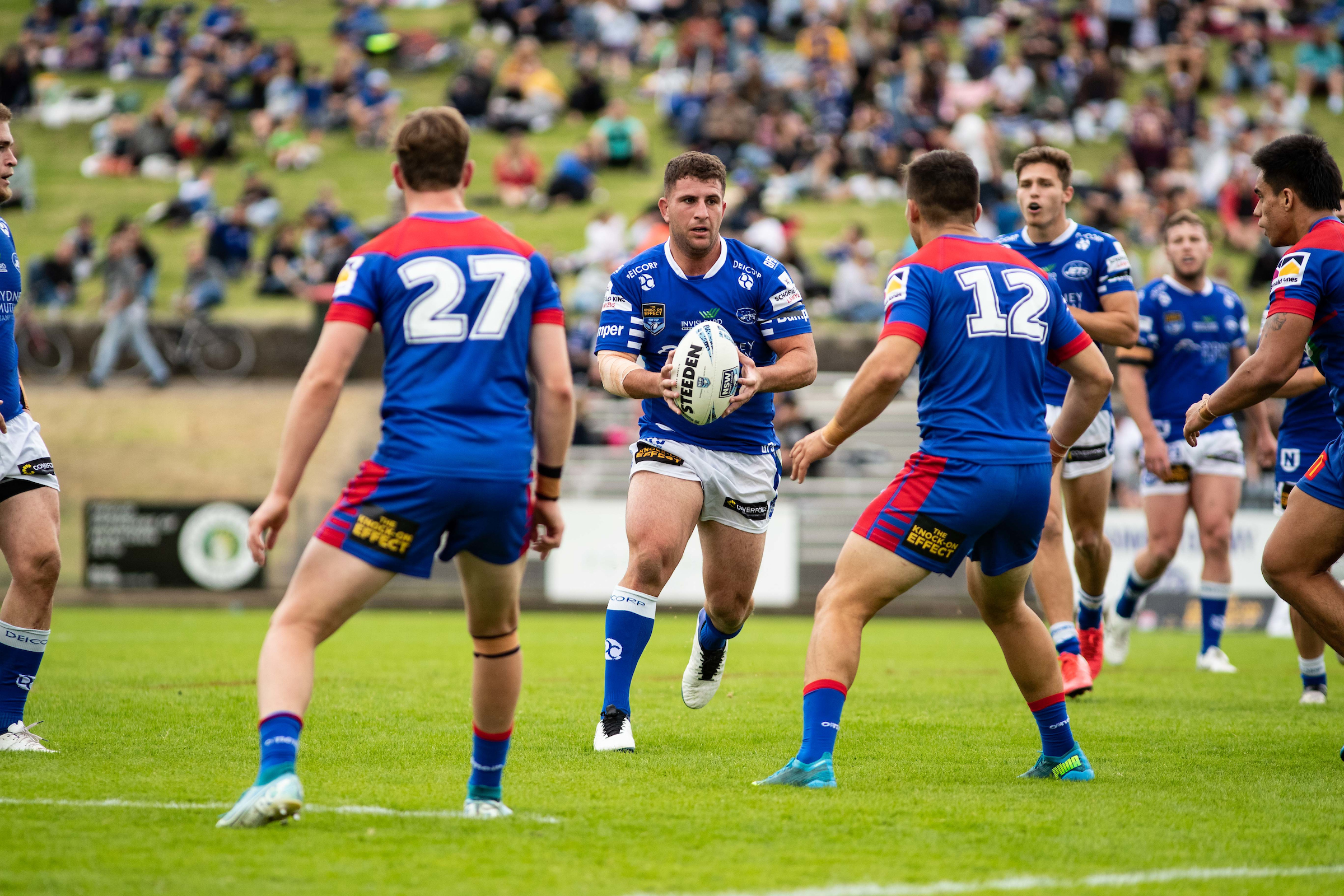 April 17, 2021 - Marrickville, NSW, Australia, Billy Magoulias of the Newtown Jets during the Round 5 NSW Cup match between  the Newtown Jets and the Newcastle Knights Henson Park in Marrickville, NSW. (Mario Facchini/mafphotography)
