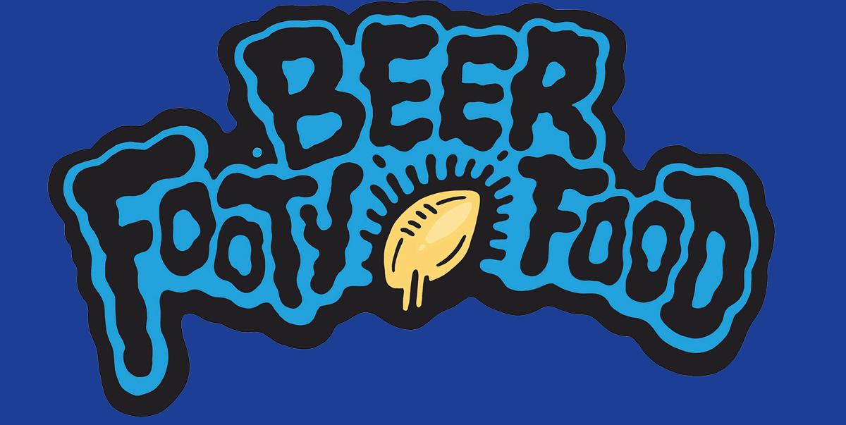 beerfootyfoodbackground