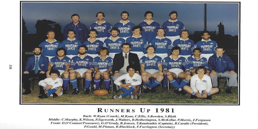 Newtown forever - The Class of 1981. Image: Newtown RLFC Archives